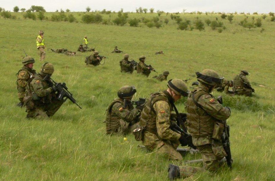 Lietuvos kariai ruošiasi budėjimui ES kovinėje grupėje