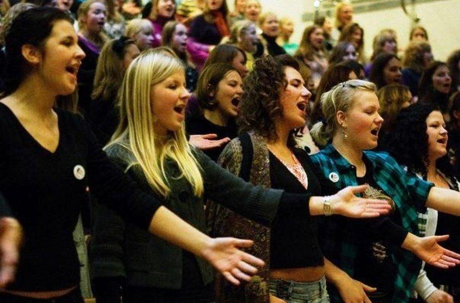 Vilniaus gospelo muzikos festivalio dalyviai