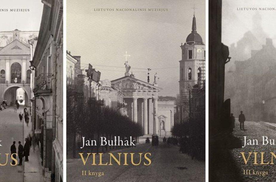 """Jano Bulhako trijų tomų albumas """"Vilnius"""""""