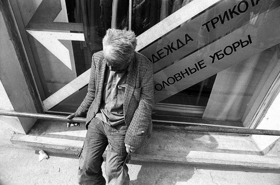 """Arvydo Stubros parodos """"Kasdienybės šviesa"""" fotografija"""