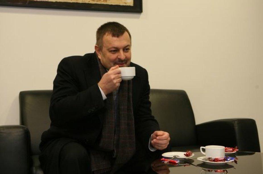 Naujasis Vilniaus savivaldybės meras Vilius Navickas
