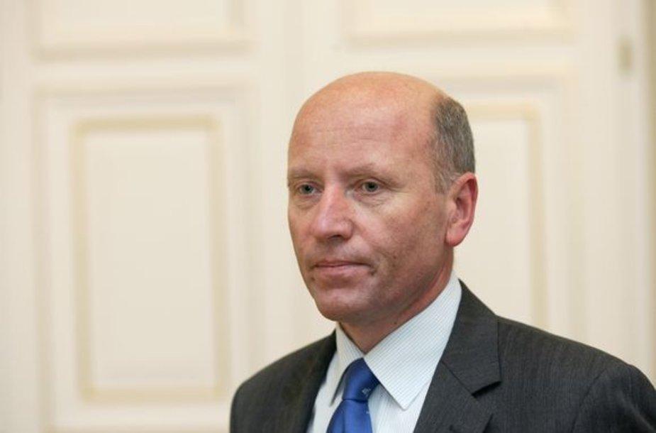 Raimundas Palaitis – vidaus reikalų ministras