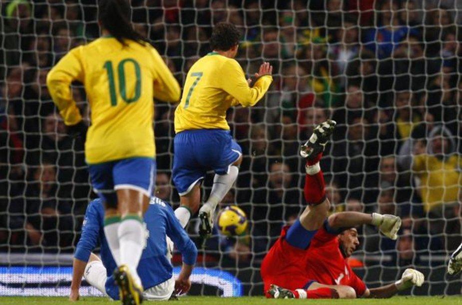 Brazilo Elano įvartis