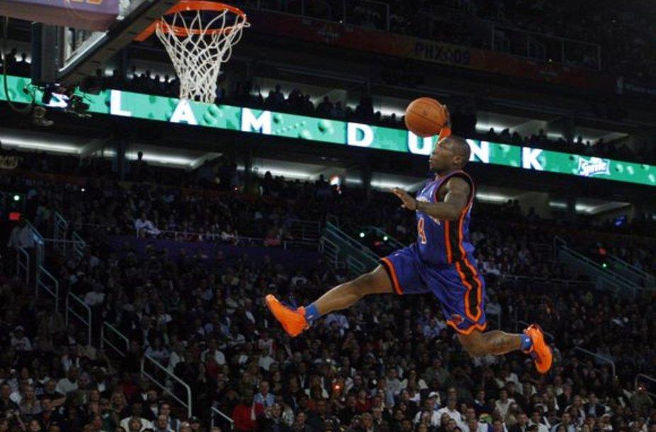 N.Robinsonas 2009 m. laimėjo NBA dėjimų konkursą