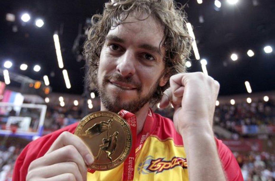 P.Gasolis vis dar džiaugiasi iškovotu Europos čempionato auksu