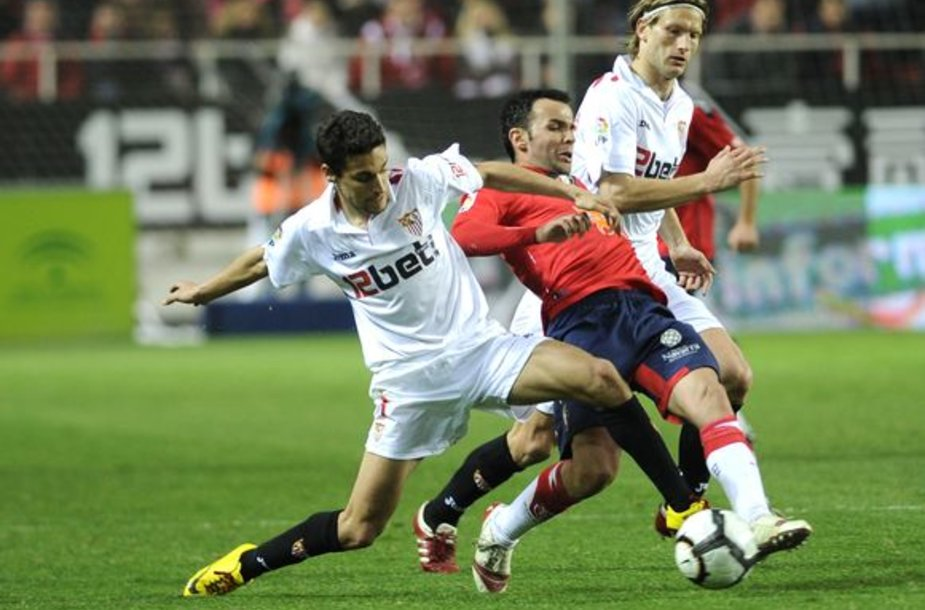 """Sevilla"" su M.Stankevičiumi įveikė ""Osasuna"""