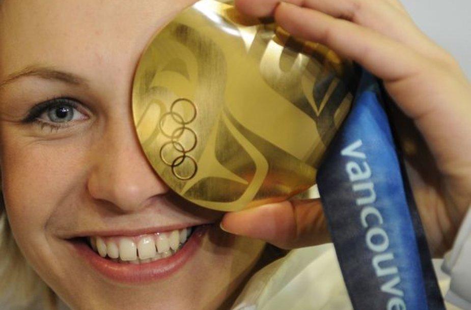 M.Neuner po finišo nuotaiką sugadino dopingo kontrolė