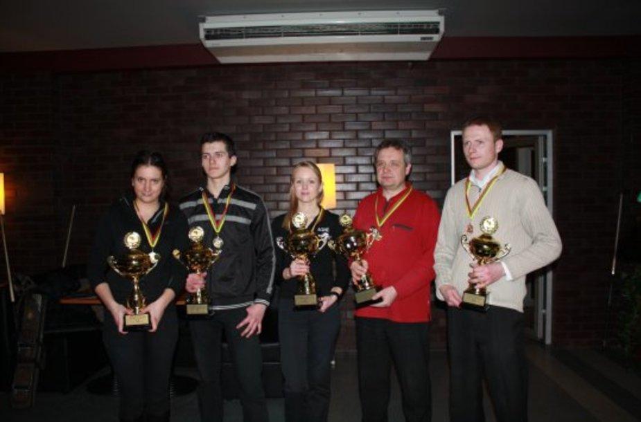 Lietuvos čempionato nugalėtojai