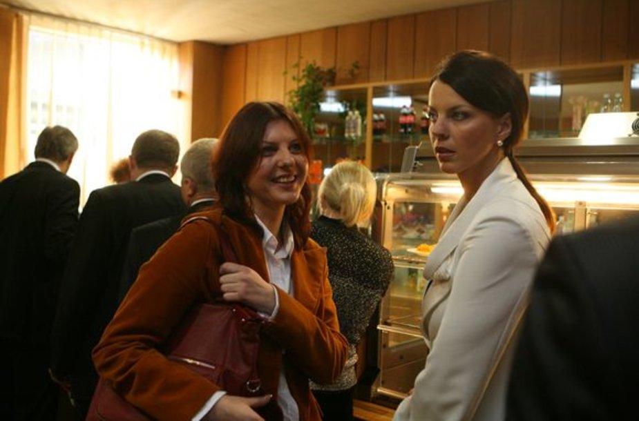 Inga Valinskienė ir D.Meiželytė