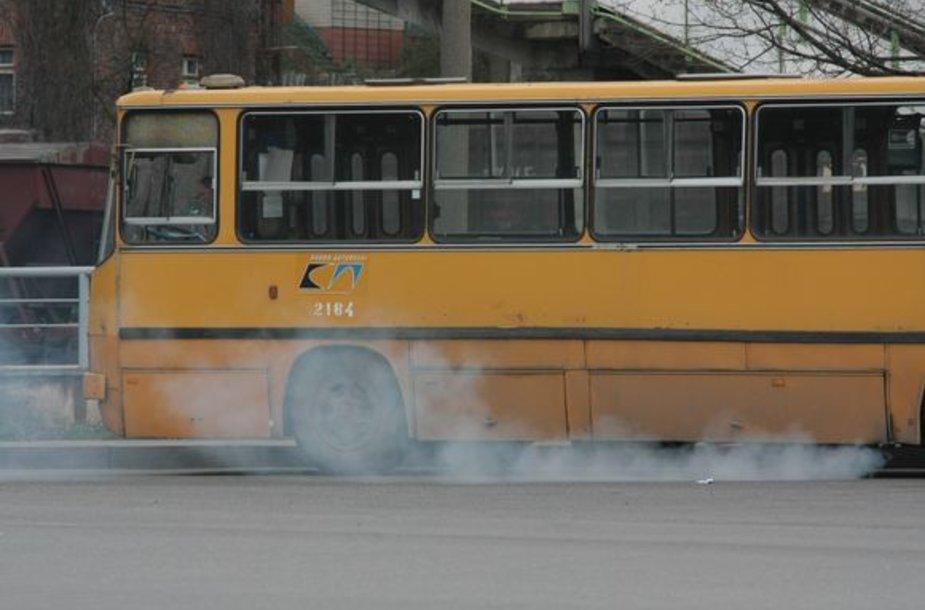 Kauno vadovai pripažino, jog planus atnaujinti autobusų parką dėl sunkmečio tenka atidėti ateičiai.