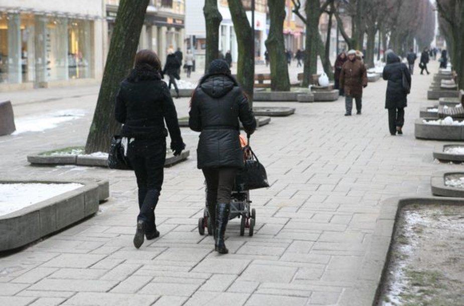 Lyginant su praėjusių metų tuo pačiu laikotarpiu, šiemet Kaune gimė 41 vaiku daugiau.