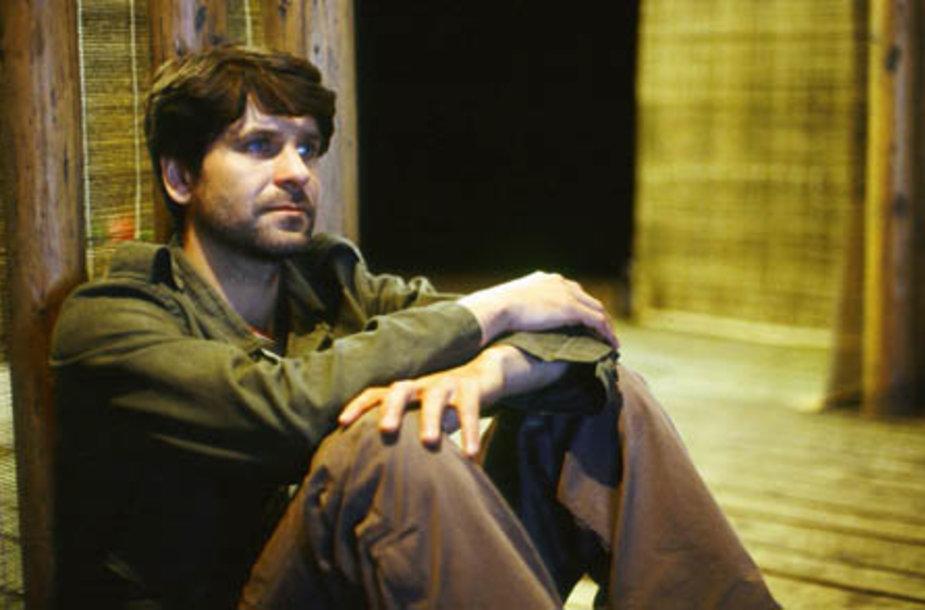 """Televizijos seriale """"Nekviesta meilė"""" ir teatro scenoje pastaruoju metu daugiausia matomas aktorius A.Bialobžeskis filme kurs vieną pagrindinių herojų – tėvą."""
