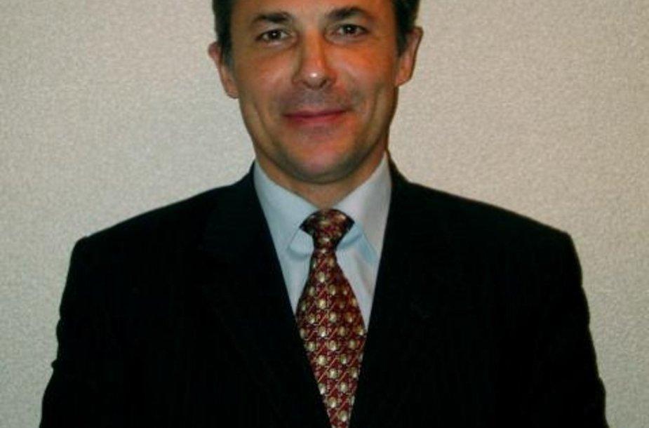 Nužudytasis advokatas V.Žukovskis.