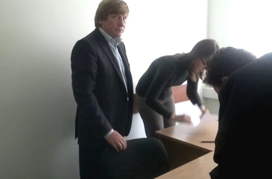 Vitas Tomkus teisme