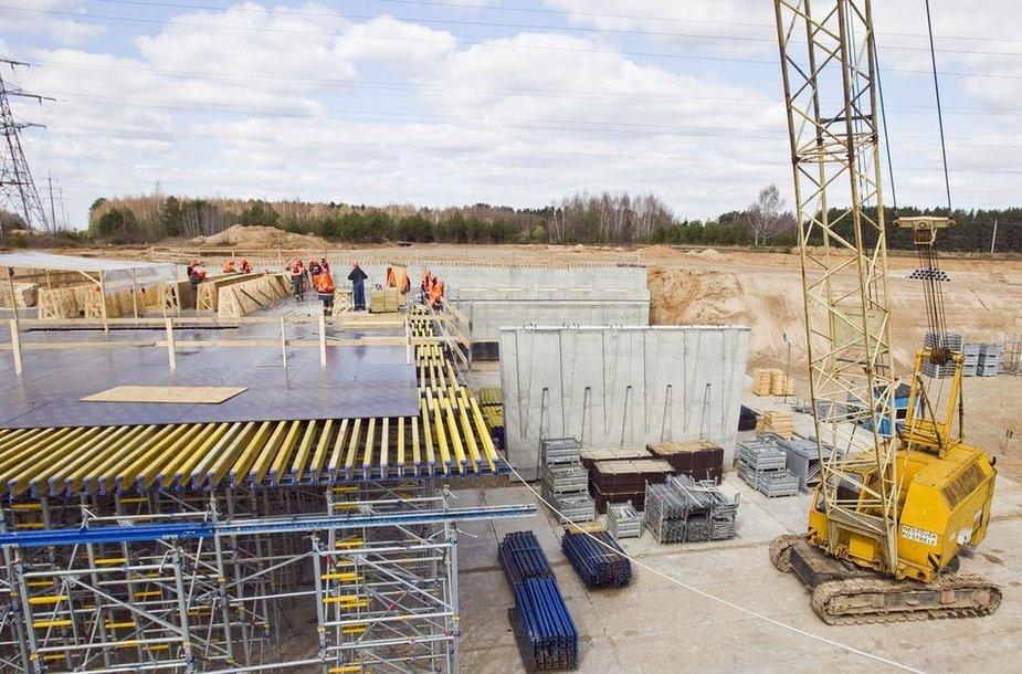 Vakarinio aplinkkelio statybos vyksta pagal nustatytą planą.