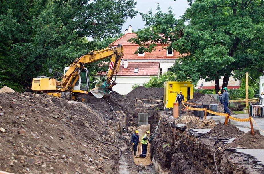 Bernardinų sode vykstantys archeologiniai kasinėjimai pateikė staigmenų.