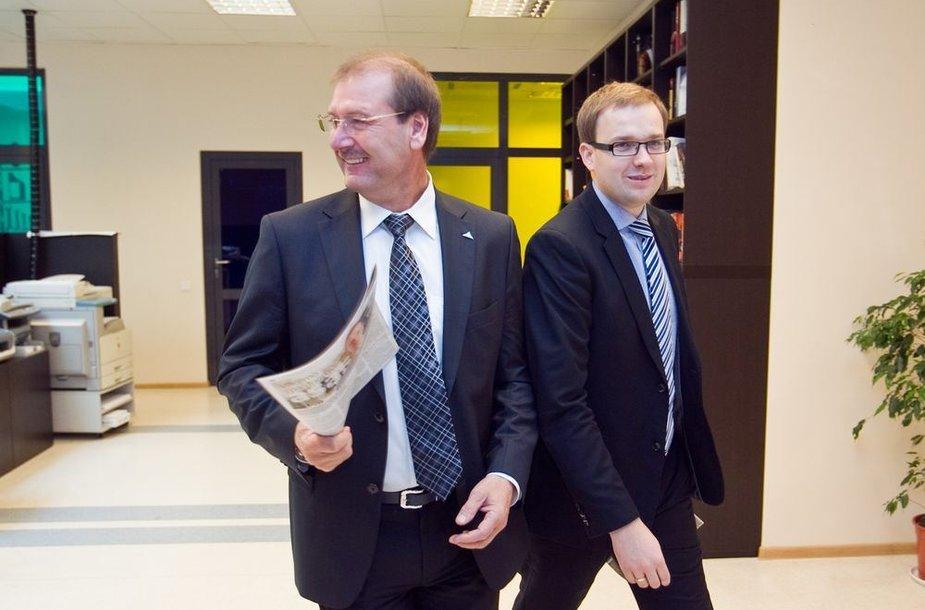 Viktoras Uspaskichas ir Vytautas Gapšys