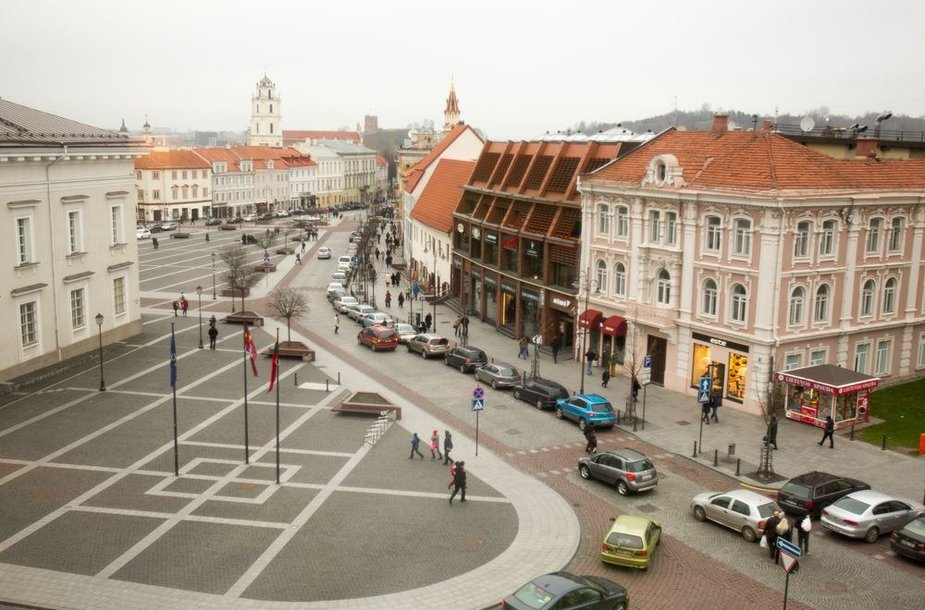 Vilniaus senamiesčio panorama