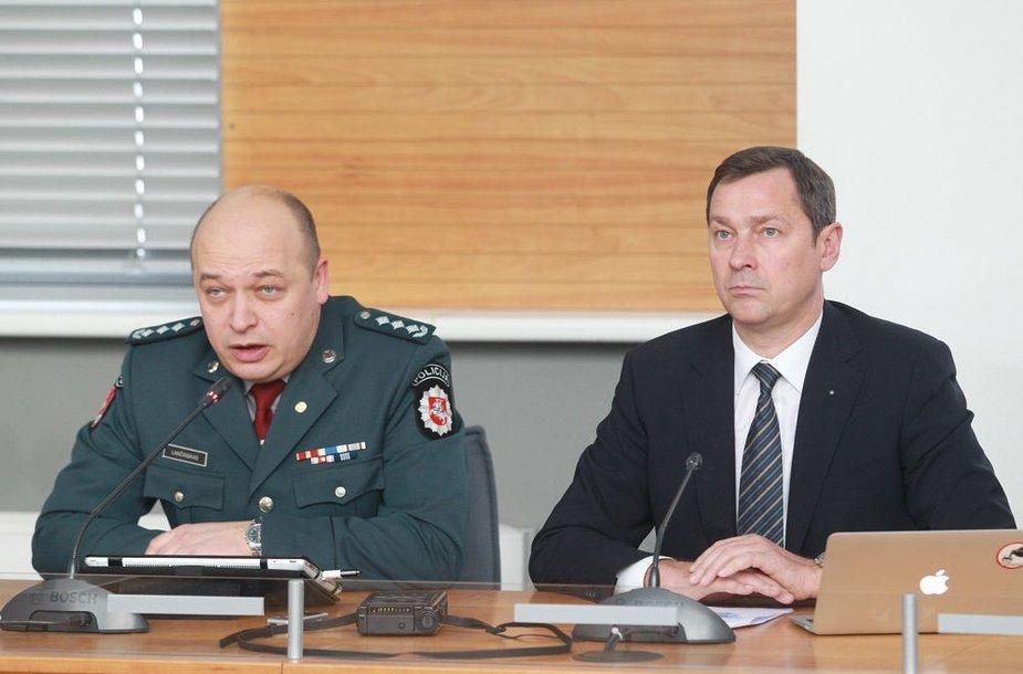 Kęstutis Lančinskas ir Artūras Zuokas