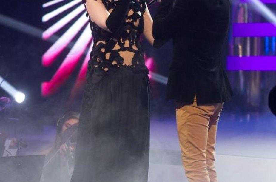 Indrė Kalašnikovienė ir Sasha Song