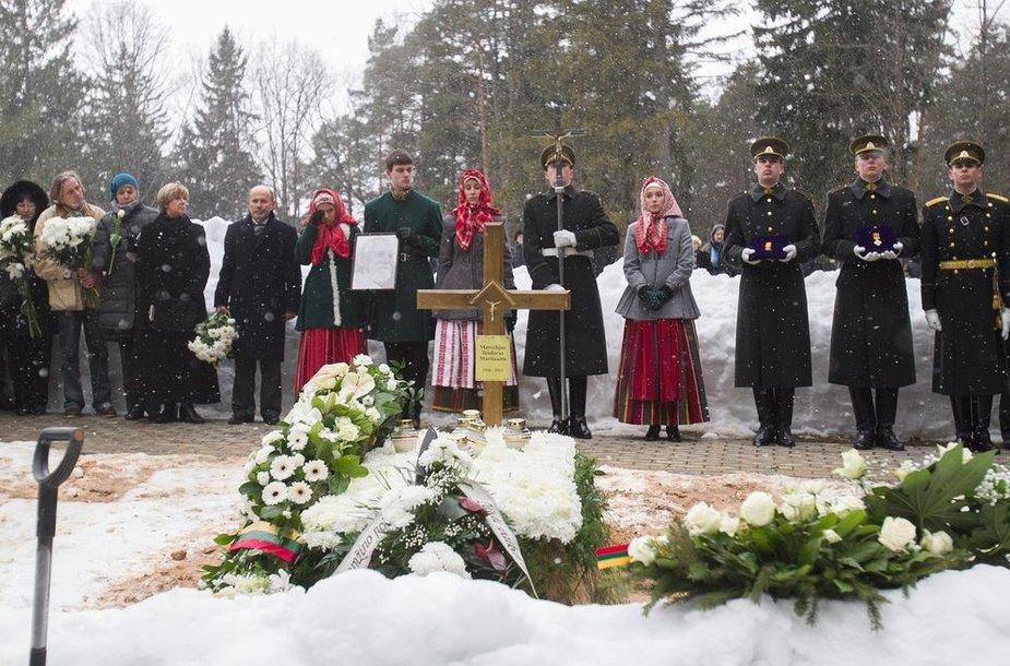 Marcelijaus Martinaičio laidotuvės