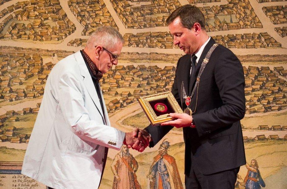 Tomas Venclova ir Artūras Zuokas