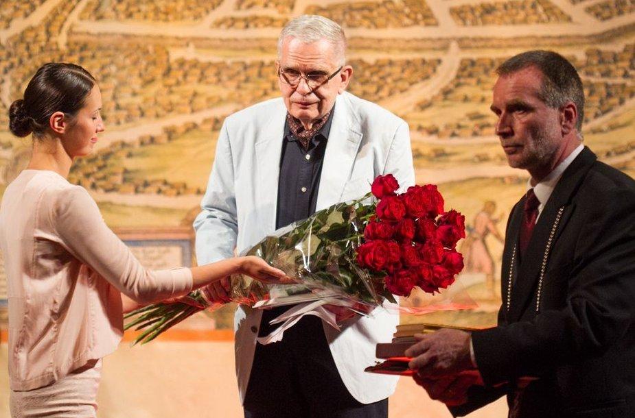Vilniaus miesto garbės piliečio vardo suteikimo iškilmės