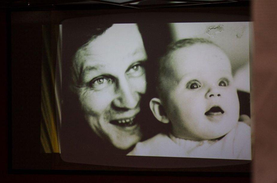 Arnas Rosenas su dukra Ina