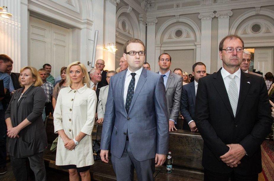 Vilniaus apygardos teisme – nuosprendis Darbo partijos juodosios buhalterijos byloje.