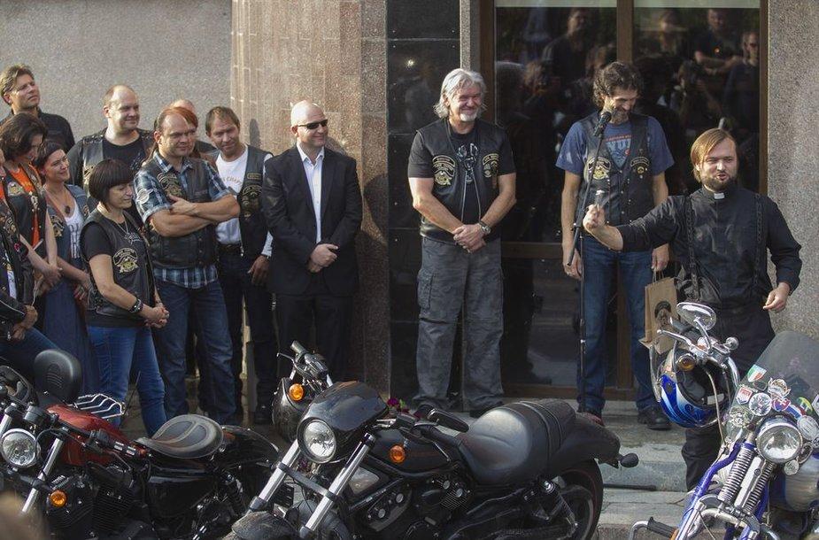 """""""Harley-Davidson"""" motociklų salono atidarymas"""