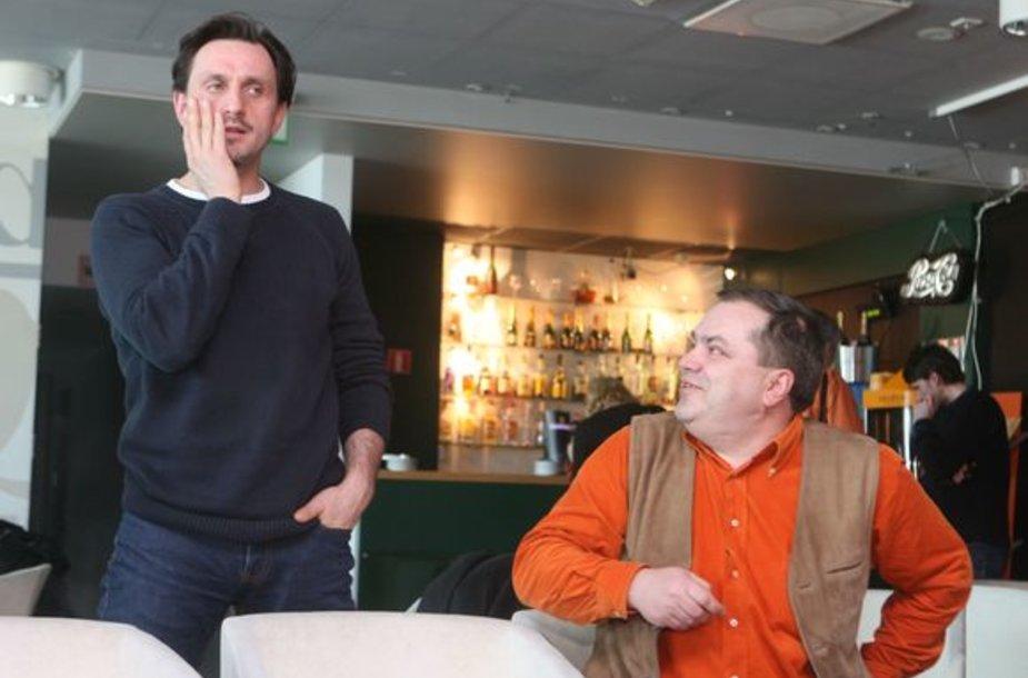 Dainius Kazlauskas ir Tomas Donela