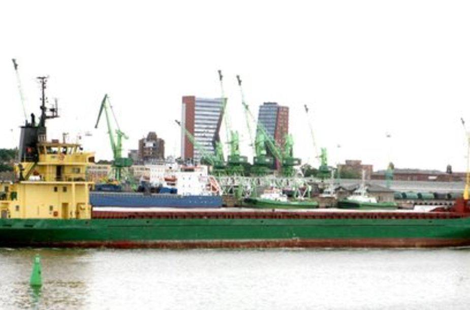 Klaipėdos jūrų uostas