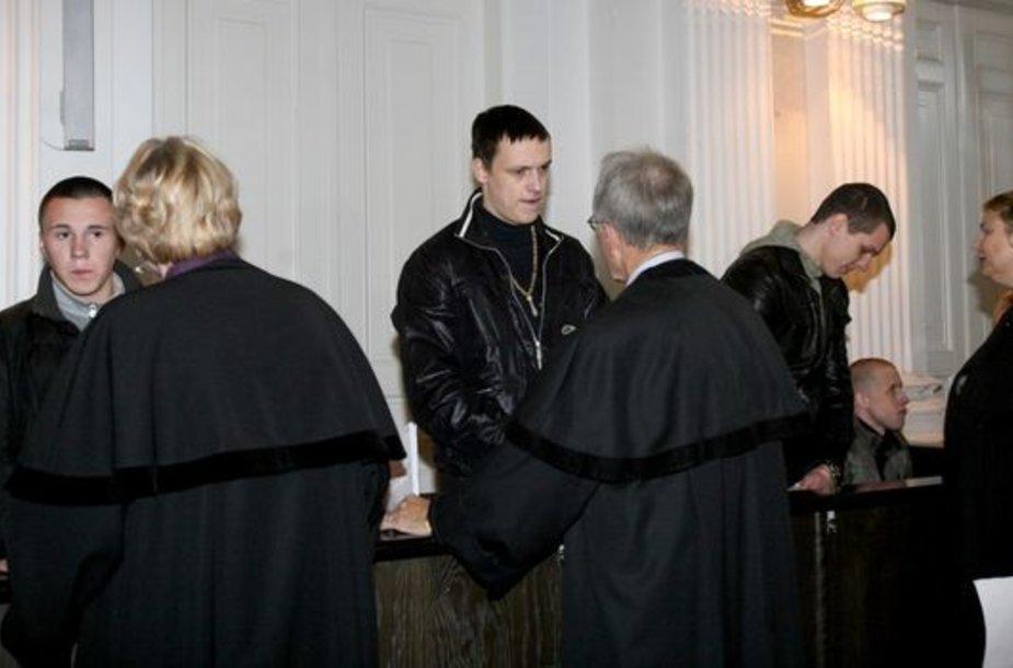 Lukas Blinovas (iš kairės į dešinę), Mantas Adomavičius, Laurynas Drūteika ir Romanas Mironiukas