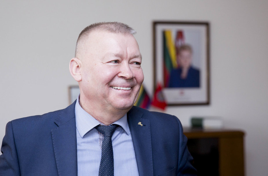 Alytaus meras Vytautas Grigaravičius