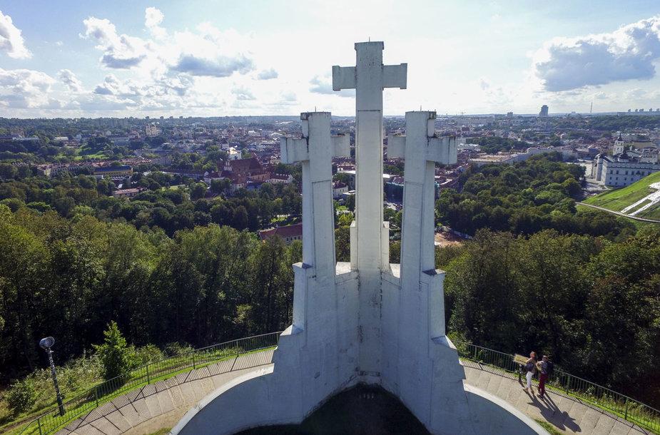 Įsibėgėjantį rudenį Vilniuje primena ne tik prasidėję mokslo metai ir vėstantys orai, bet ir nuo medžių pradėję kristi lapai.