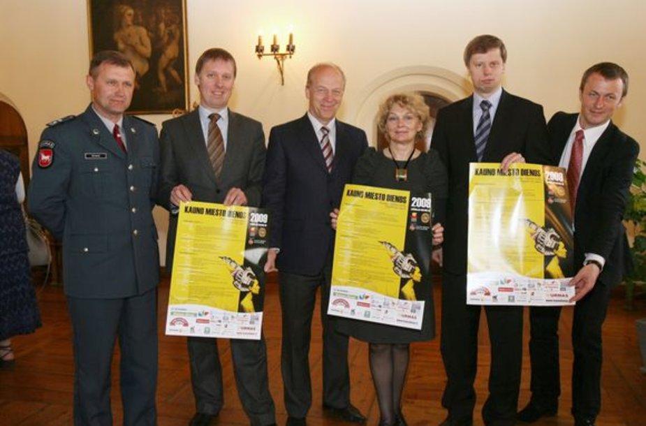 Kauno miesto dienų organizatoriai net nebandė slėpti, jog dėl itin kuklaus šventės biudžeto jiems nepavyko įgyvendinti visų sumanymų ir planų.