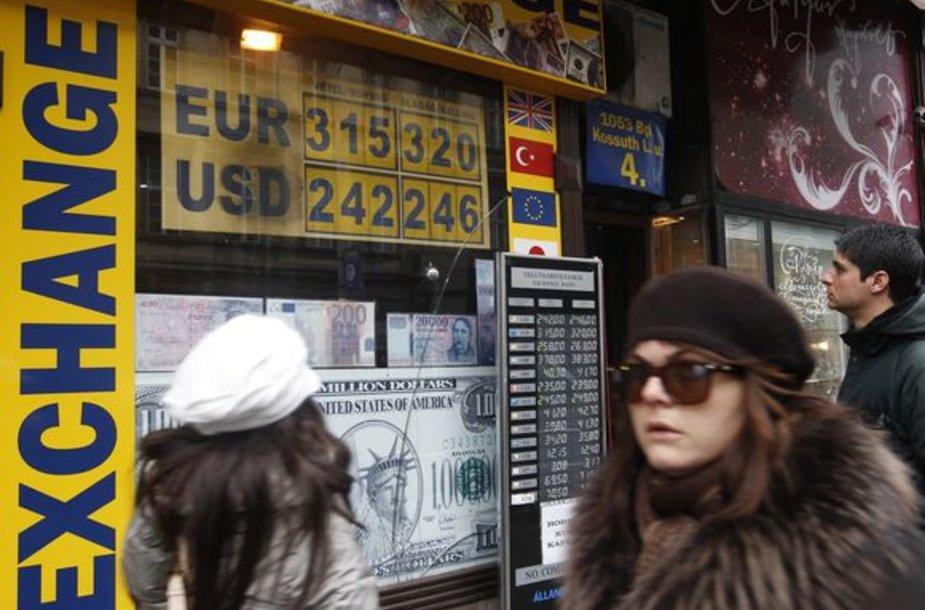 Valiutos keitykla Budapešte
