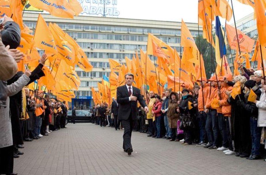 V.Juščenkos rinkiminė kampanija