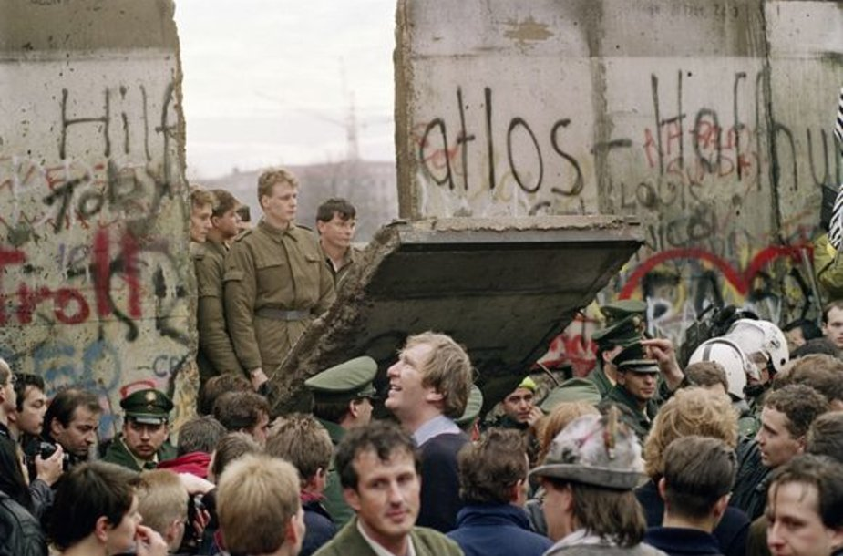 Berlyno siena 1989-aisiais