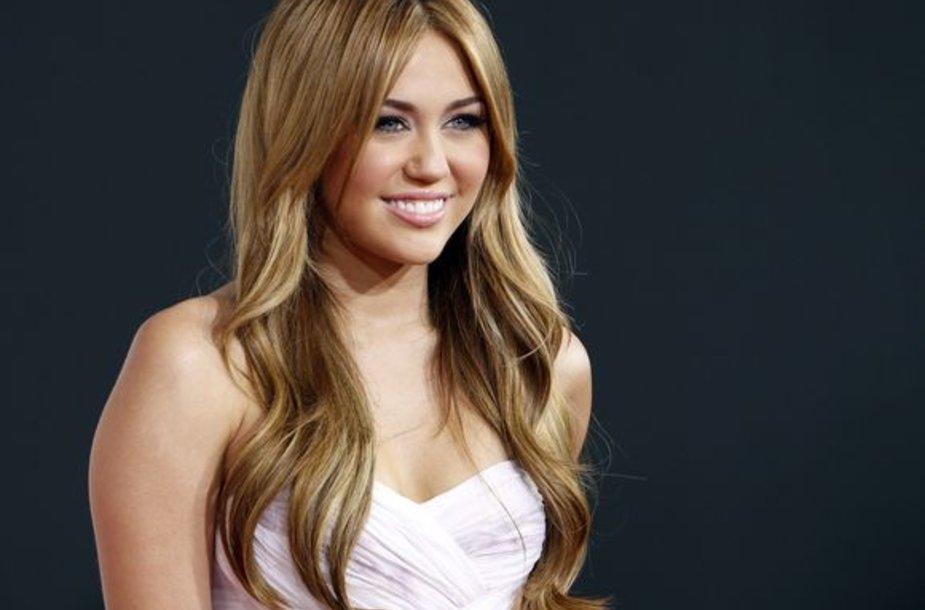 Miley Cyrus anksčiau
