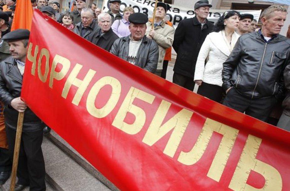 Protestuotojai Ukrinoje