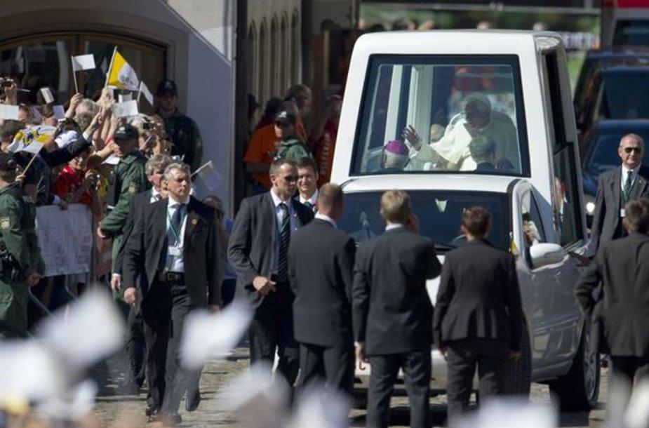 Popiežiaus vizitas Vokietijoje