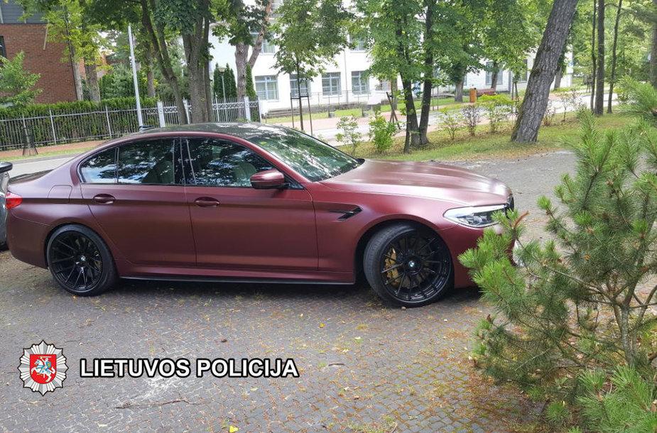 Pavogtasis BMW X5