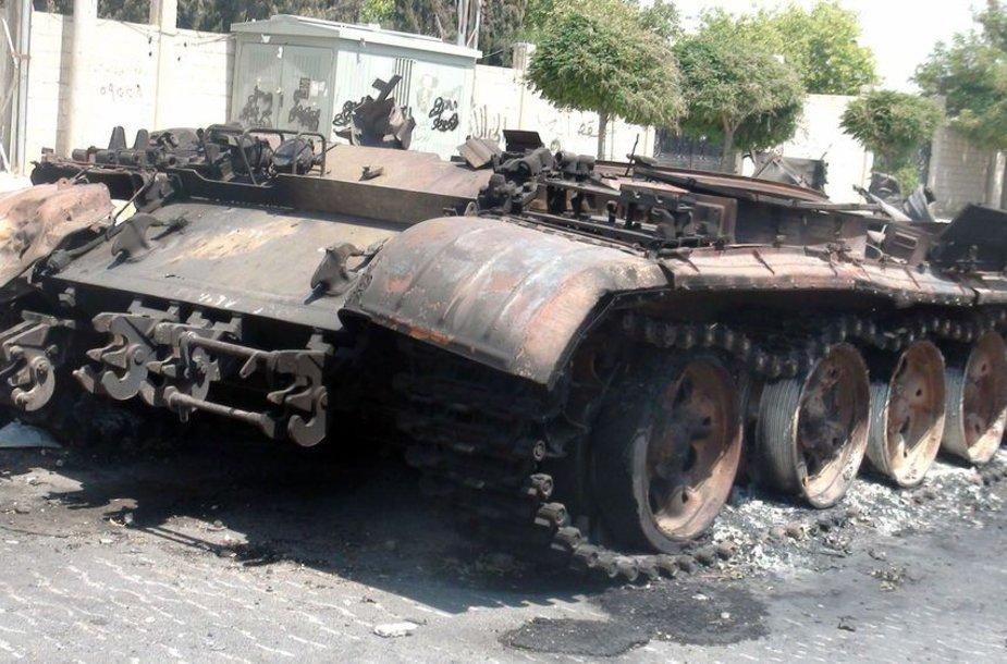 Tankai Sirijoje