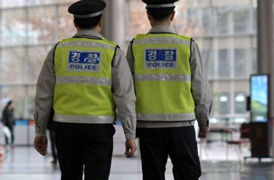 Policija Pietų Korėjoje