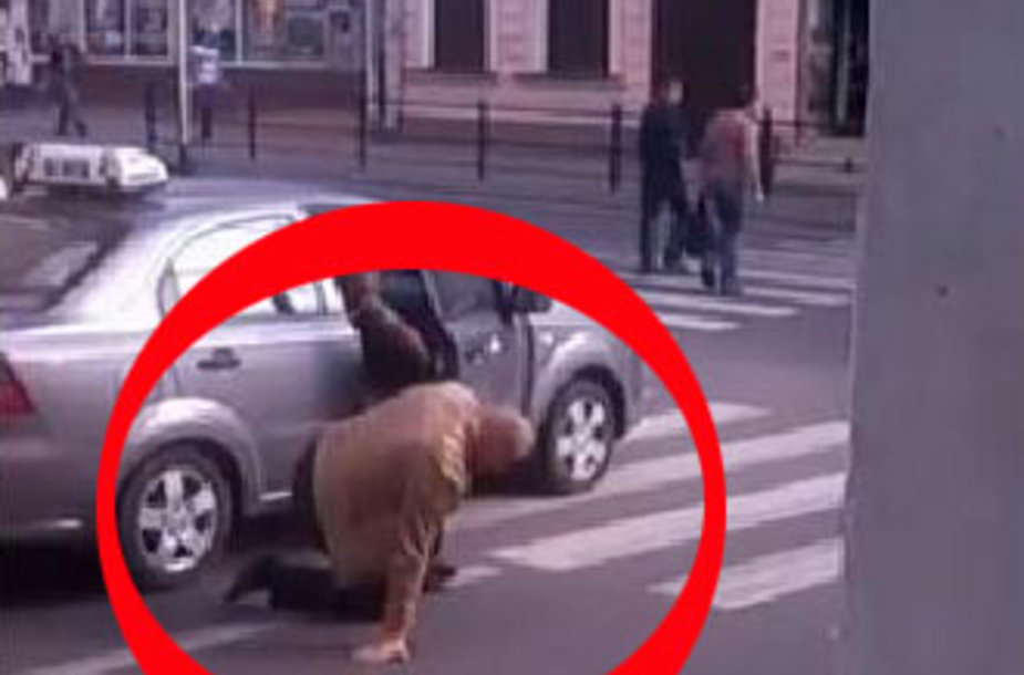 Taksistų smurtas