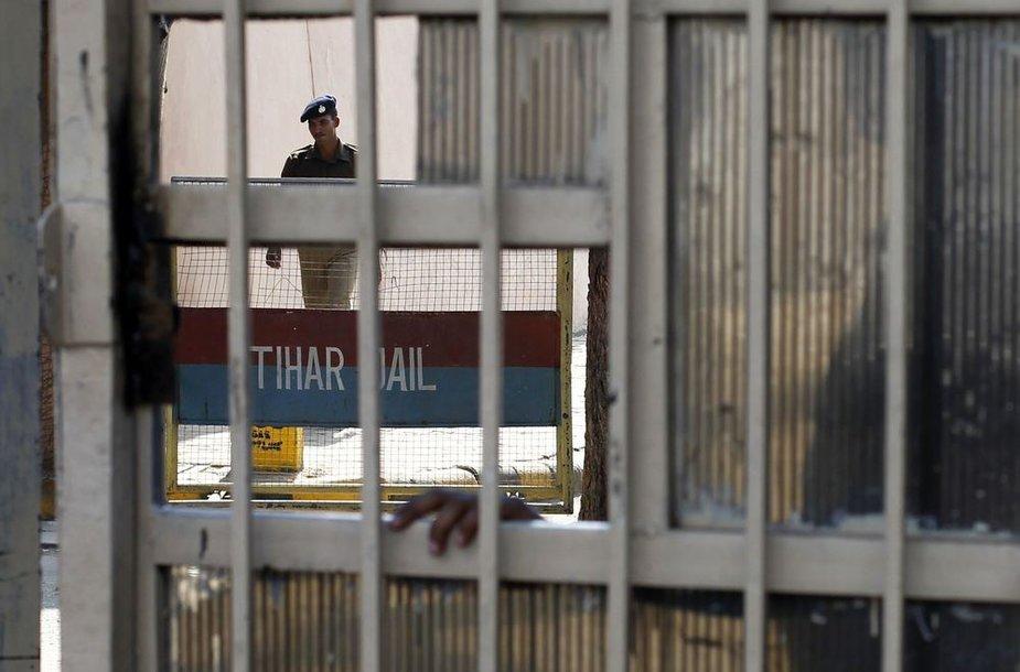 Kalėjimas, kuriame rastas įtariamojo kūnas