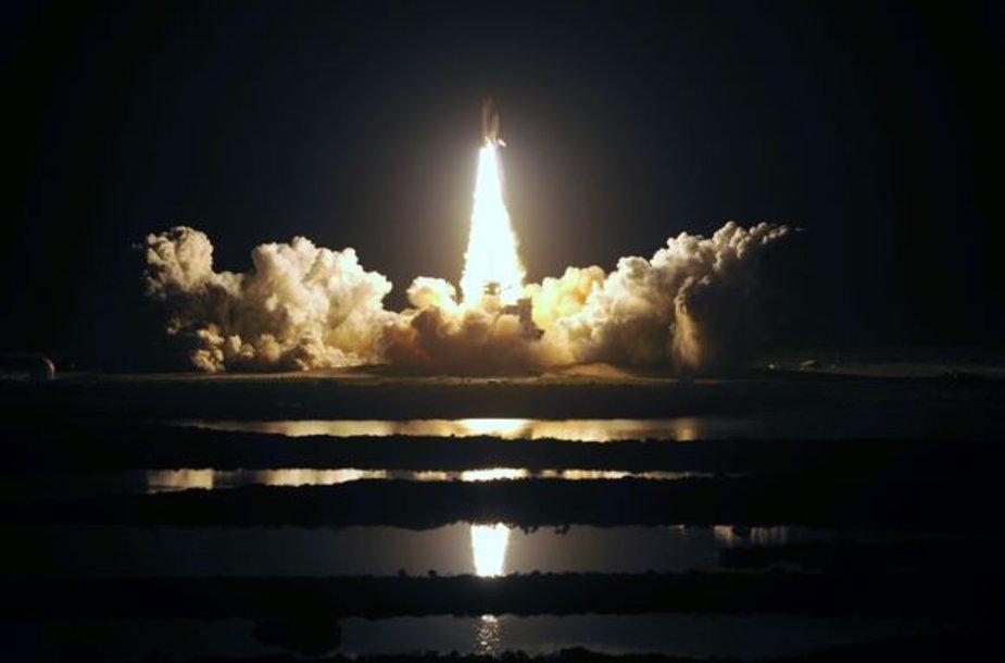 Kosminė misija truks 13 dienų.