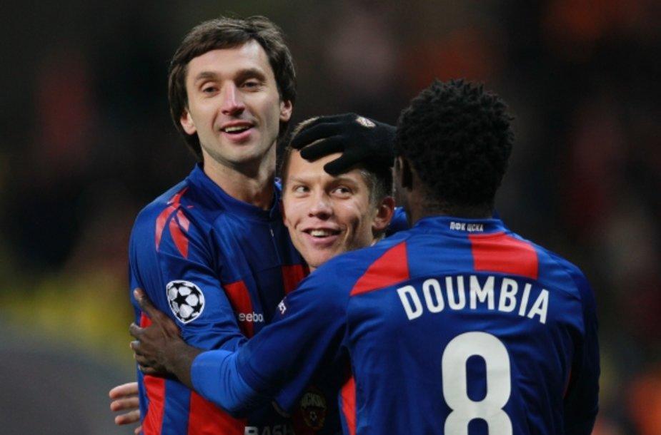 Deividas Šemberas (kairėje) tiki CSKA sėkme