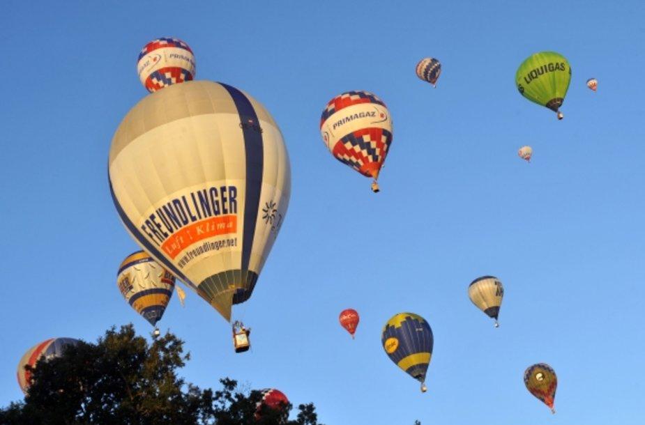 Karšto oro balonių varžybos